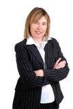 aged businesswoman middle Στοκ Φωτογραφία