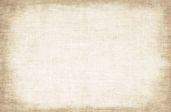 Aged canvas texture Stock Photography