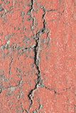 Aged cement wall texture, cracked rock background, rough surface Stock Images