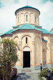 Aged christan church in Tbilisi Royalty Free Stock Image