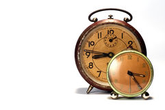 Aged clocks Royalty Free Stock Photography