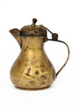 Aged coffee jug Royalty Free Stock Images