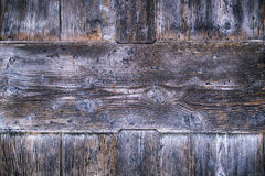 Aged color wooden boards background Royalty Free Stock Photos
