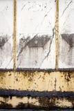 Aged concrete fence Stock Image