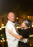 aged couple middle Στοκ φωτογραφία με δικαίωμα ελεύθερης χρήσης