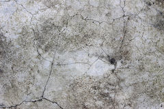 Aged cracked concrete stone plaster wall background Royalty Free Stock Images