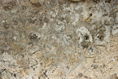 Aged cracked concrete stone plaster wall background Royalty Free Stock Photography