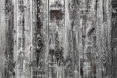 Aged cracked wooden wall panels texture, background royalty free stock images