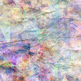 Aged crumpled paper background Stock Image