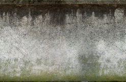 Aged dirty wall. Aged cement wall tiled horizontaly Stock Photos