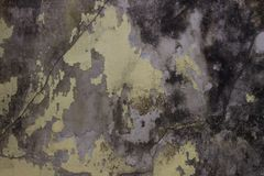 Aged dirty wall texture background. Peeling paint effect. Look vintage, aged, dirty, grunge, rough Stock Photos