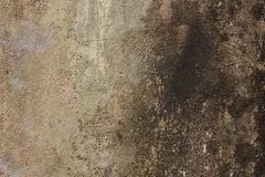 Aged dirty wall texture background. Peeling paint effect. Look vintage, aged, dirty, grunge, rough Royalty Free Stock Image