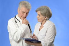 Aged doctors Royalty Free Stock Photography