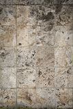 Aged dolomite limestone blocks texture. Aged old weathered rough dolomite limestone blocks texture Stock Photo