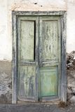 Aged door in Lanzarote Stock Photos
