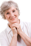 Aged female Stock Photography