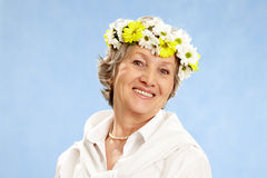Aged female Royalty Free Stock Photography