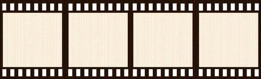 Aged Film Strip Stock Photos