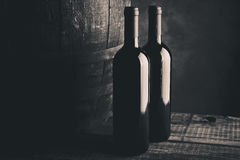 Aged fine wine Royalty Free Stock Photo