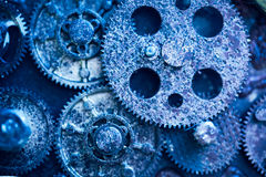 Aged gear wheels Royalty Free Stock Photos