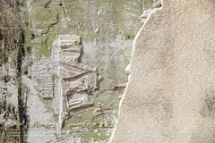 Aged grey beton texture. Abstract background. Old wall texture.  Stock Photography
