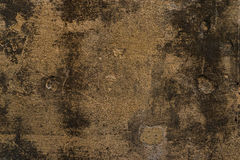 Aged grunge abstract concrete texture with dents Stock Photography