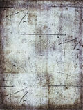 Aged grunge background. An aged and scratched grunge background royalty free stock photography