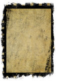 Aged grunge canvas with film strip Stock Image