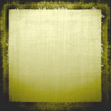Aged Grunge Fabric. Vintage old linen green and brown tones grunge canvas texture fabric for background designs Royalty Free Stock Image