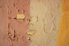 Aged grunge paint old wall background Stock Photo