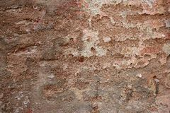 Aged grunge paint old wall background Stock Images