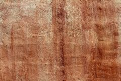 Aged grunge red cement paint wall texture Royalty Free Stock Photos