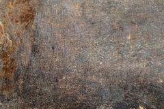 Aged grunge rusty metal surface texture in weathered condition stock images
