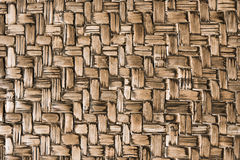 Aged handmade bamboo weave texture background. Aged handmade bamboo weave texture background Stock Image
