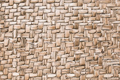 Aged handmade bamboo weave texture background. Aged handmade bamboo weave texture background Stock Photography