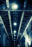 Aged Iron Bridge Royalty Free Stock Photo