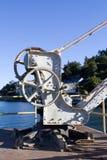 Aged Iron crane Stock Image
