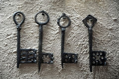 Aged keys Royalty Free Stock Image