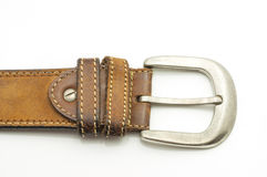 Aged Leather Belt Royalty Free Stock Photo