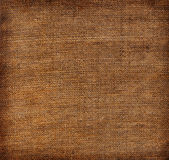 Aged linen fabric Stock Image