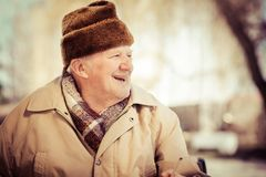 Aged man Royalty Free Stock Photography