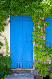 Aged mediterranean door Royalty Free Stock Photography