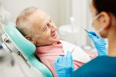Dental problems royalty free stock image