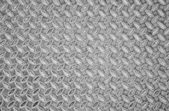 Aged metal seamless steel diamond plate texture pattern background Royalty Free Stock Photos