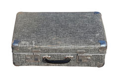 Aged metal suitcase Royalty Free Stock Photos