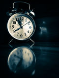 Aged metalic mechanical watch stock images