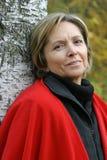 aged middle smiling woman Στοκ Φωτογραφίες