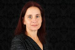 aged middle woman Στοκ Εικόνες