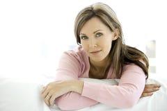 aged middle woman στοκ φωτογραφία