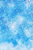 Aged old blue board snow color paint texture Royalty Free Stock Images